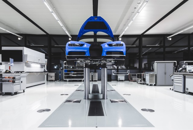 Bugatti Chiron production in Molsheim, France