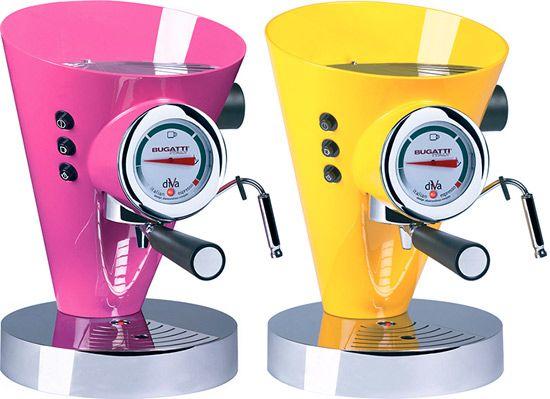 Bugatti Diva 15-Bar Pump Espresso Machine