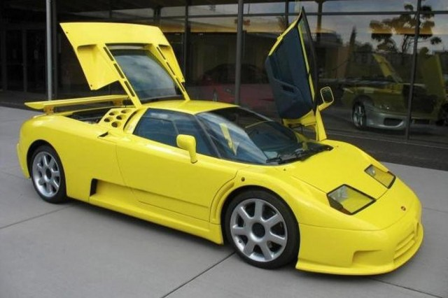 michael schumacher s bugatti eb110 super sport for sale. Black Bedroom Furniture Sets. Home Design Ideas