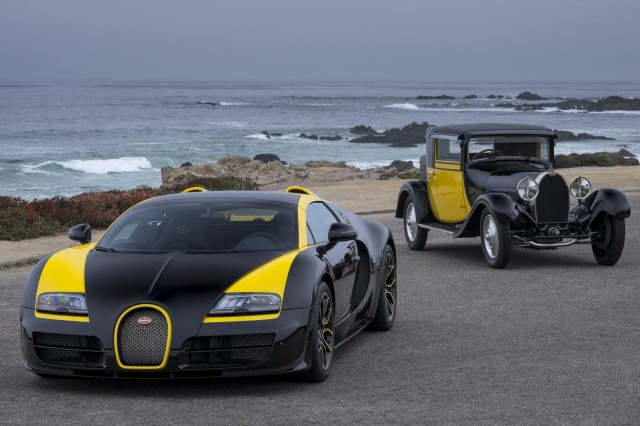 Bugatti Veyron Grand Sport Vitesse '1 of 1' at 2014 Pebble Beach Concours d'Elegance