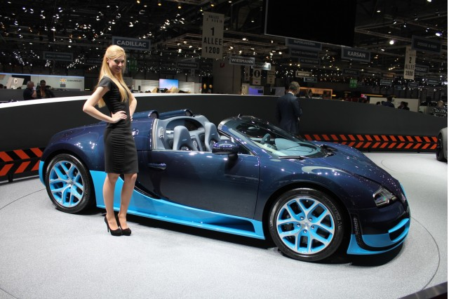 bugatti veyron grand sport vitesse live photos 2012 geneva motor show. Cars Review. Best American Auto & Cars Review