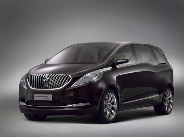 hybrid buick mpv business concept unveiled. Black Bedroom Furniture Sets. Home Design Ideas