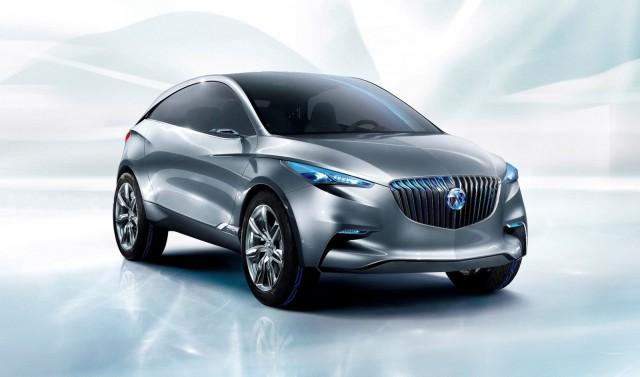 Buick Envision concept, 2011 Shanghai Auto Show