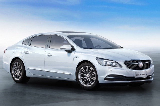Buick Lacrosse 2017 >> Buick unveils China-only LaCrosse Hybrid