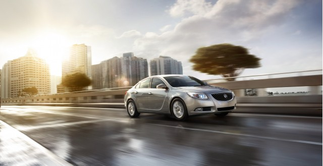 2012 Buick Regal with eAssist