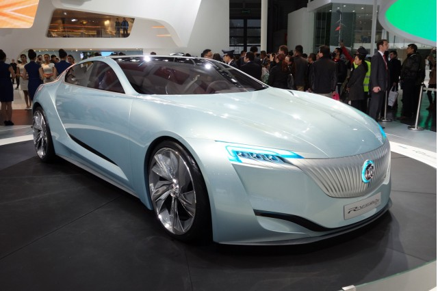 Buick Riviera Concept, 2013 Shanghai Auto Show
