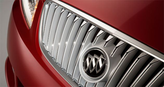 Buick teaser of 2010 LaCrosse