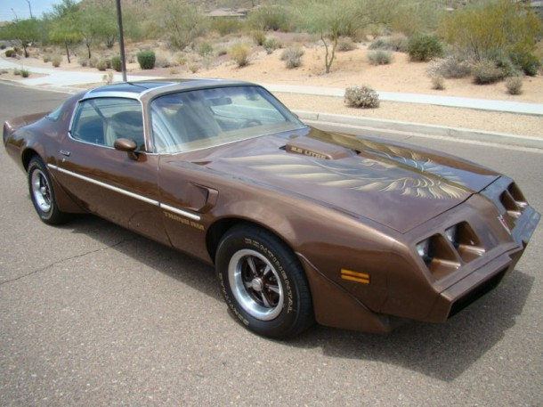 Burt Sienna Pontiac Firebird Trans-Am for sale
