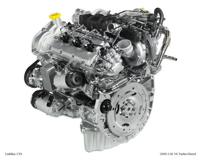 Cadillac CTS 2.9-liter turbodiesel V-6