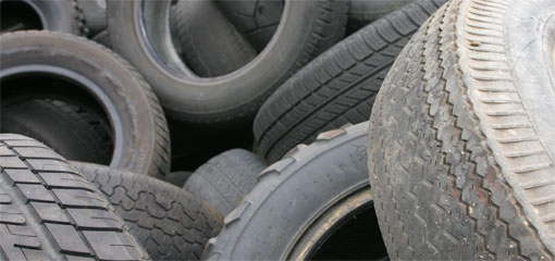 California recycles waste tires into new roads