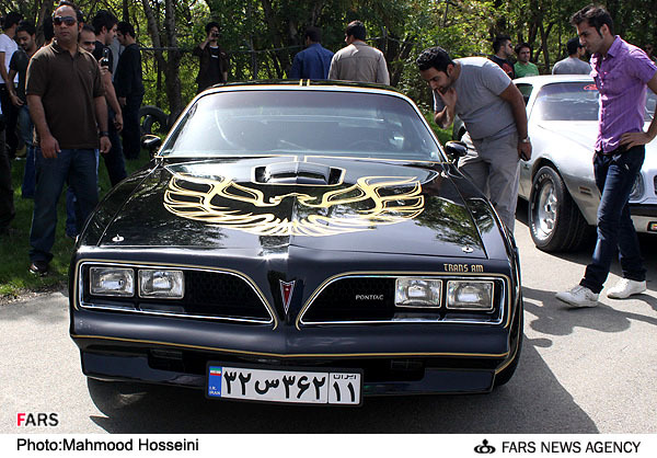 Muscle Cars Rule, Even In Tehran