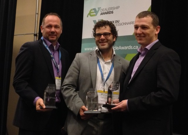 Canada's 2014 Electric Vehicle Conference - dealership awards