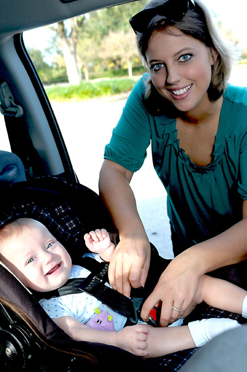 Car seats - correct installation, AAA