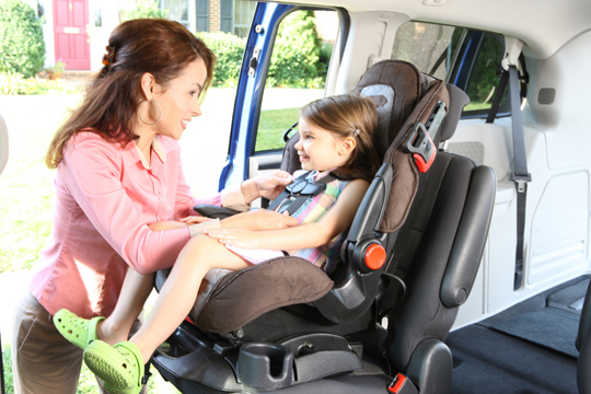 Car seats - proper installation-toddler, NHTSA