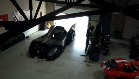 Casey Putsch's turbine-powered Batmobile