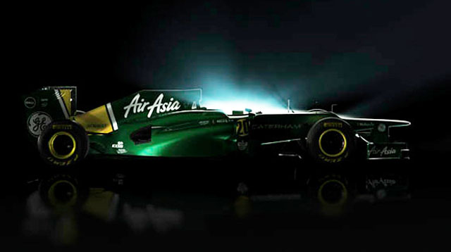 Caterham CT01 2012 Formula 1 race car