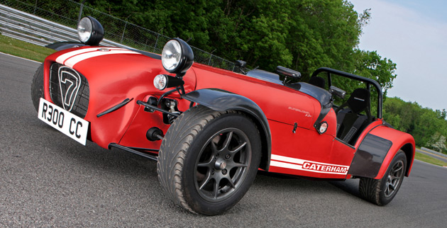 Caterham upgrades Superlight R300 with more powerful engine and improved chassis developments