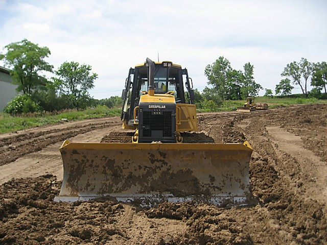 Caterpillar D6K bulldozer