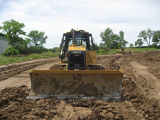 Caterpillar D6K bulldozer