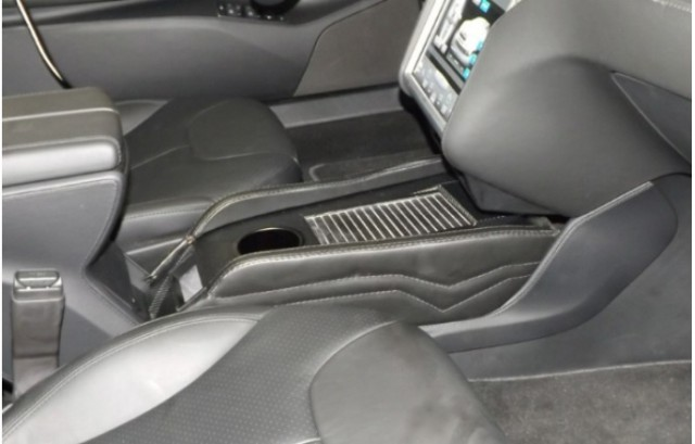 Center Console Insert for Tesla Model S offered by Teslaccessories.com