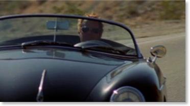 Chad McQuen Driving Steve McQueen's Porsche Speedster