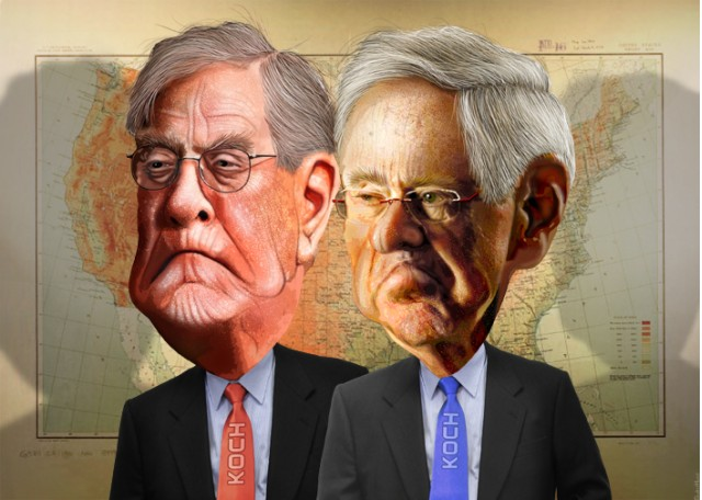Koch brothers want to kill the electric car again and for Charles und david koch