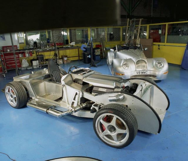 Chassis fabrication will be done by Radshape. Image: Morgan Motor Company