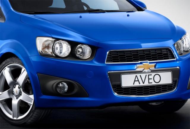 2012 Chevrolet Aveo Hatchback