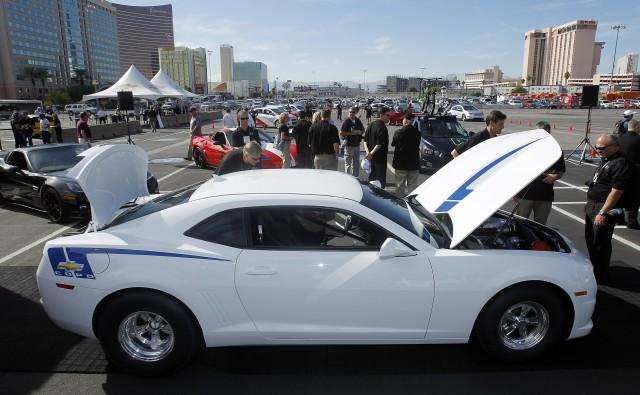 Chevrolet Camaro COPO Concept at SEMA 2011