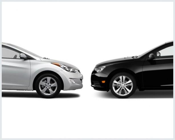 Chevrolet Cruze Vs. Hyundai Elantra