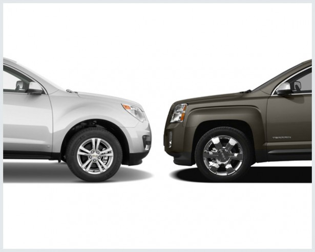 Chevrolet Equinox Vs. GMC Terrain