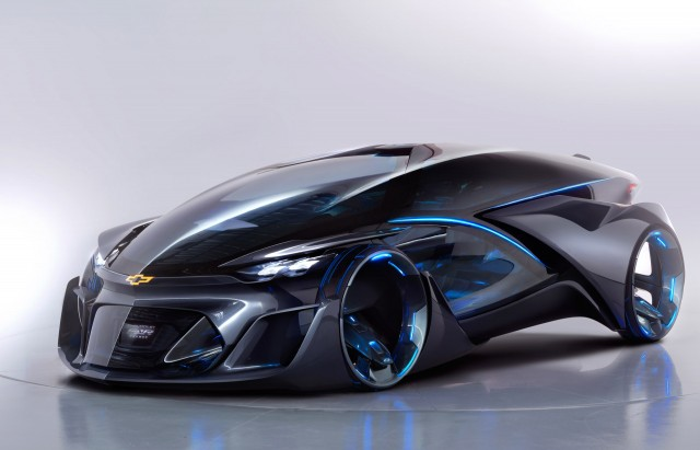 Chevrolet FNR-X Concept is an All-Purpose Plug-in Hybrid