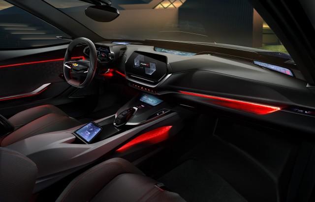 Chevrolet FNR-X concept, 2017 Shanghai auto show