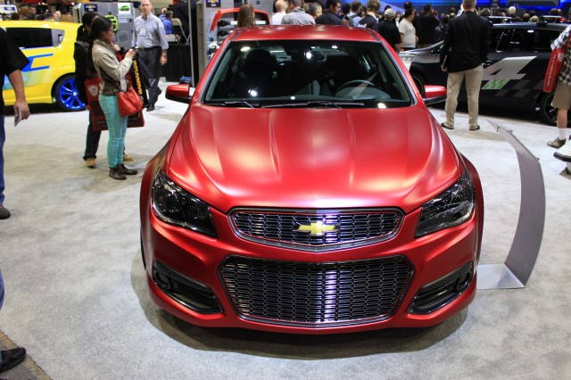 Chevrolet SS Performance Sedan Jeff Gordon Concept, 2013 SEMA Show