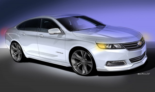 Chevrolet Urban Cool Impala concept, 2013 SEMA