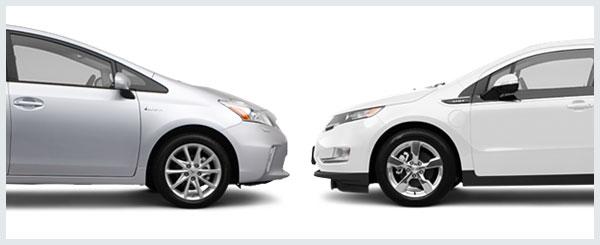 Chevrolet Volt Versus Nissan Leaf