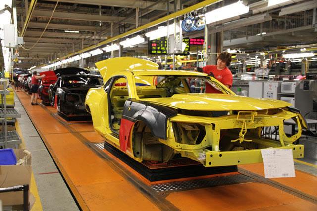 New oshawa camaro assembly plant photos for General motors assembly plant