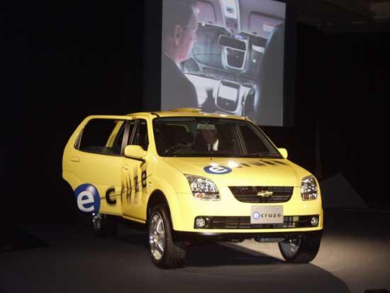 Chevrolet eCruze concept Tokyo 2001