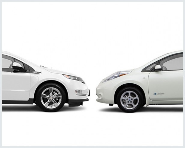 Chevy Volt Vs. Nissan Leaf