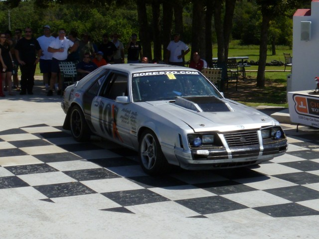 Chumpcar at Hallett 2010 awards ceremony