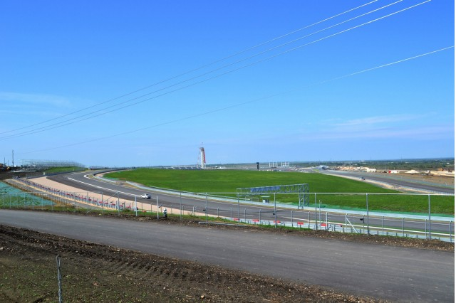 Circuit of the Americas construction progress, 10/1/2012. Images via Friends of F1 Austin Texas.