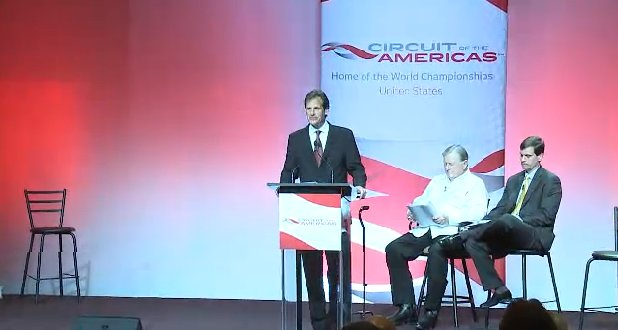 Circuit of the Americas preview presentation