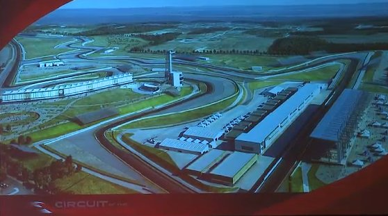 Circuit of the Americas rendering