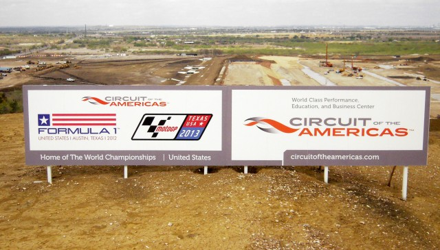 Circuit of the Americas Track Signage - Anne Proffit photo