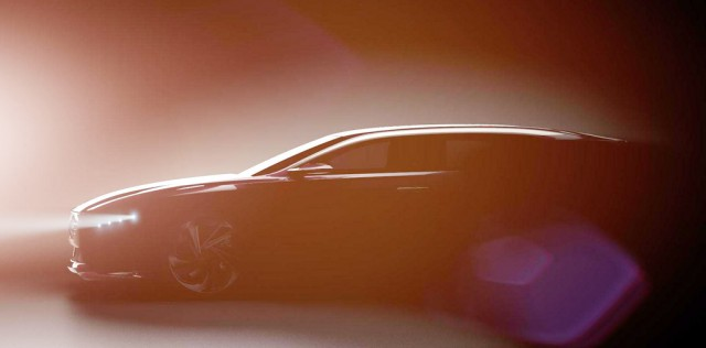 Citroen teasers new flagship