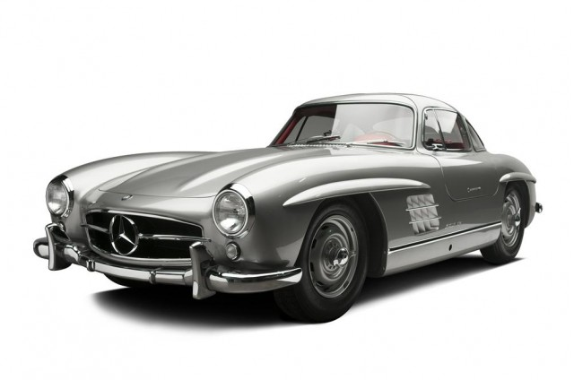 Clark Gable's 1955 Mercedes-Benz 300SL - image: Barrett-Jackson