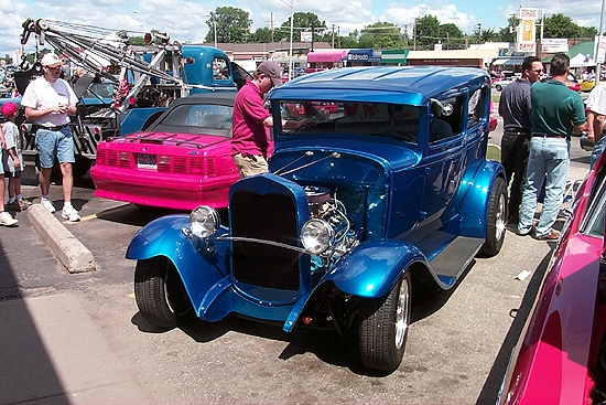 classic Blue Rod