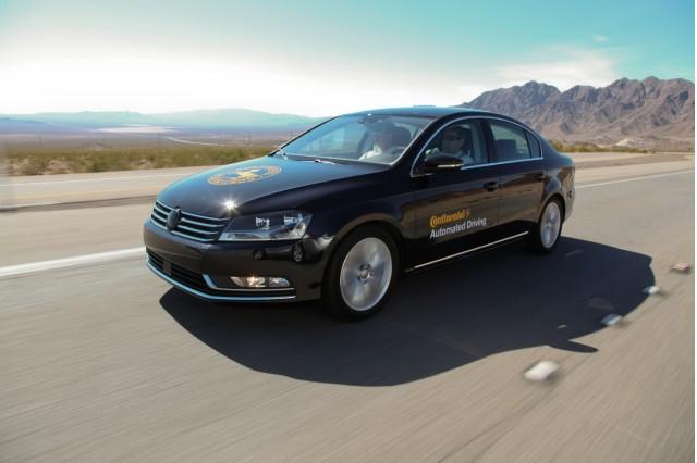 Continental's semi-autonomous VW Passat