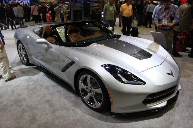 Corvette Stingray Convertible Atlantic Concept, 2013 SEMA Show