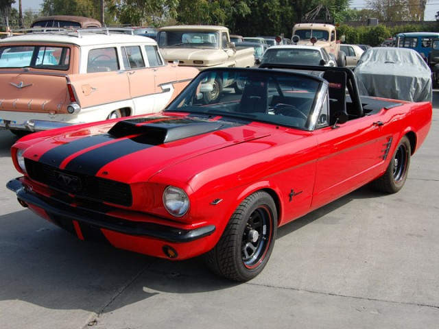 Custom 1966 Ford Mustang previously owned by Charlie Sheen